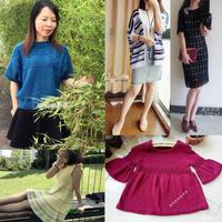 201720期周热门编织作品:12款女士儿童春夏手工编织服饰