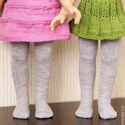 袜子巧改娃娃连裤袜 玩偶服饰DIY
