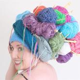 毛线团打造乐趣创意生活 端午小长假玩个毛线