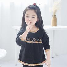 图兰朵 儿童棒针提花裙式毛衣编织视频教程(2-1)