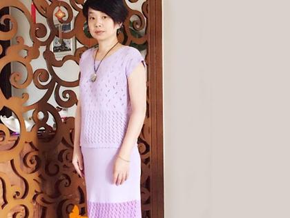 机织云朵女士短袖套裙 LK150快乐U乐娱乐youle88机作品