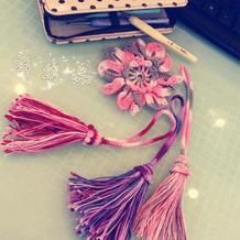 详细图文教程介绍钩针流苏穗子的编织方法