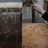 更接近自然的创作 艺术家将树叶与泥土重新组合成精美蕾丝