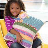 抱枕还可以这样编织 用针线描绘四季与童话