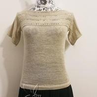 银笛SK280家用编织机机织女士横织袖毛衣