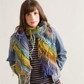 实用简单零线创意 毛线头打造疯狂段染风格编织物
