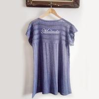 新手也容易编织的女士钩针极简衫裙