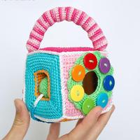 宝宝玩具自己做 超详细步骤图教你编织婴儿认知玩具