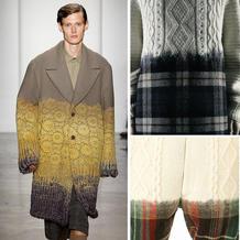 它是毛衣还是西装?毛线编织与面料混合在一起的服饰