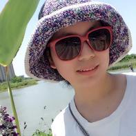 简单漂亮女士夏日钩针遮阳帽