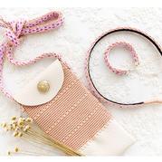 趣味毛线编织视频教程教织钩针小包、卡织发卡及手链