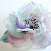 手工纱DIY漂亮花朵 蓬蓬裙装饰