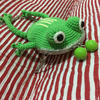 钩针青蛙口金斜挎包包编织图解