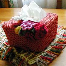吃完冰淇淋后的盒子不要丢 零碎毛线打造居家美饰