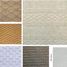 17款棒针上下针花样 最简单的围巾织法花样集