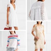 不一样的钩织布结合 11款棉线编织大牌春夏服饰