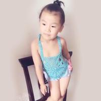 盛夏编织可爱宝宝钩针小肚兜视频教程