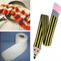 还有什么主题不能织在围巾上?毛线编织创意围巾作品集锦
