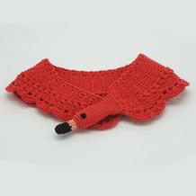 儿童钩针小天鹅围巾编织视频教程