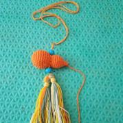 创意钩编饰品 钩针葫芦编织图解教程