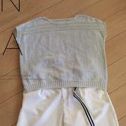 兄弟868家用编织机机织云素麻棉女士横织套衫
