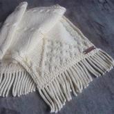 实用简单不怕水洗不会变形的围巾流苏制作方法