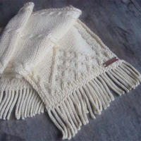 實用簡單不怕水洗不會變形的圍巾流蘇制作方法