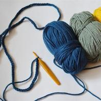 小零线也有超实用的用途 零基础也能编出来的钩针流苏围巾