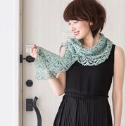 细棉钩针编织女士蕾丝拼花春夏围披