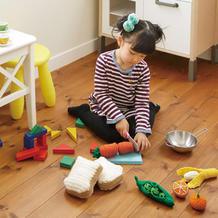 趣味钩针宝宝玩具编织图解 手工编织切切乐过家家玩具