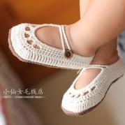 宝宝的鞋子准备好了吗  夏季空调鞋春秋钩针蕾丝婴儿鞋