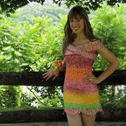 糖纸都可以做成裙子了,家里那些零线还有什么不能用的?
