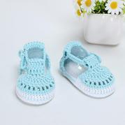 宝宝高筒毛线鞋视频_毛线编织宝宝鞋,宝宝鞋的钩法,宝宝鞋的织法-编织人生