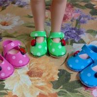 简单漂亮布艺毛线娃娃鞋制作过程图 娃娃服饰DIY
