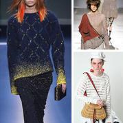 毛线编织的朋克风服饰 2017时装周另类编织服装