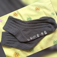 法式跟男士棒针毛线袜编织教程