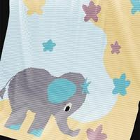 萌萌哒动物钩针毯子,绝对让你家宝宝爱不释手!(附图解)