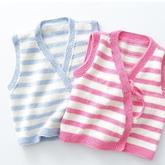 新生儿条纹款棒针和尚服编织视频教程