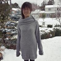 织法超简单的罗纹毛衣却让人笑喷