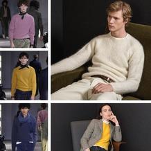彩色马海羊毛衫尽现简约现代法国品牌Officine Generale2017秋冬