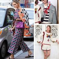 9月欧美名人穿起更加可以体现个性的秋冬服饰--毛线钩衣