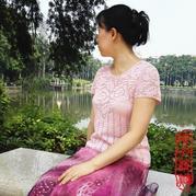 经典钩针方格玫瑰花短袖衫