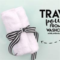 金秋旅行装备收纳小技巧 DIY毛巾旅行套装