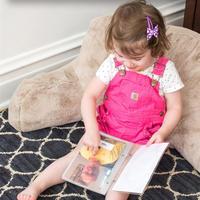 认知玩具还可以这样做 DIY家庭相册书
