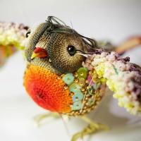 艺术家Ruta Naujalyte美到令人窒息的缝纫线钩编艺术