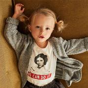 西班牙服装品牌ZARA2017秋冬女童毛衣款式欣赏