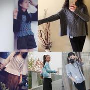 201739期周热门编织作品:10款手工编织2017初秋毛衣款式