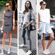 秋天运动鞋即要合适也要美搭 30款运动鞋搭配参考