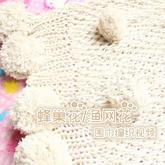 经典实用蜂巢花渔网花棒针镂空花围巾编织视频教程