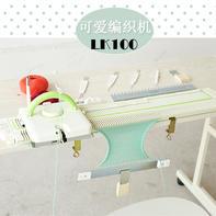 日本银笛LK100可爱编织机 中粗毛线家用针织横机